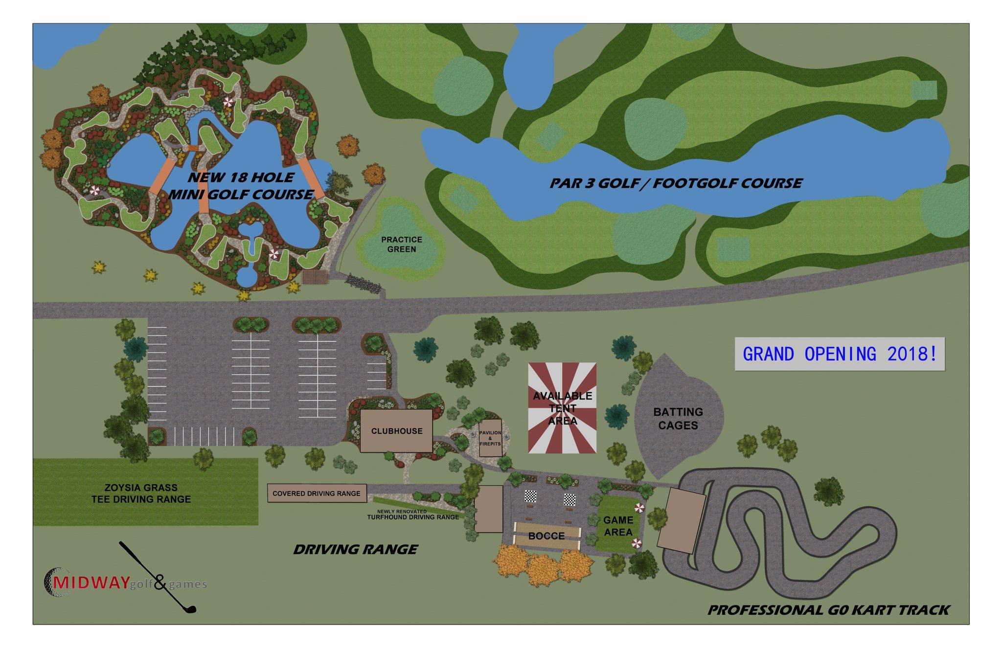 miniature golf map